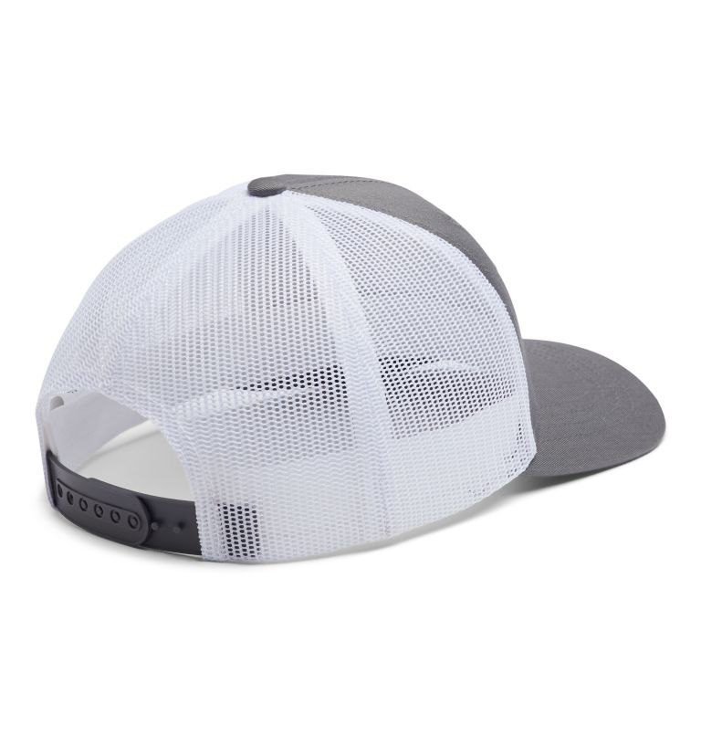 Columbia Youth™ Snap Back Hat | 029 | O/S Youth Columbia™ Snap Back Cap, Titanium, Fish Flag, back