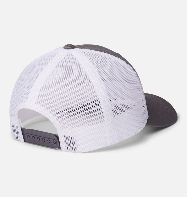 Columbia Youth™ Snap Back Hat   050   O/S Youth Columbia™ Snap Back Cap, Titanium, White, Camo Columbia, back
