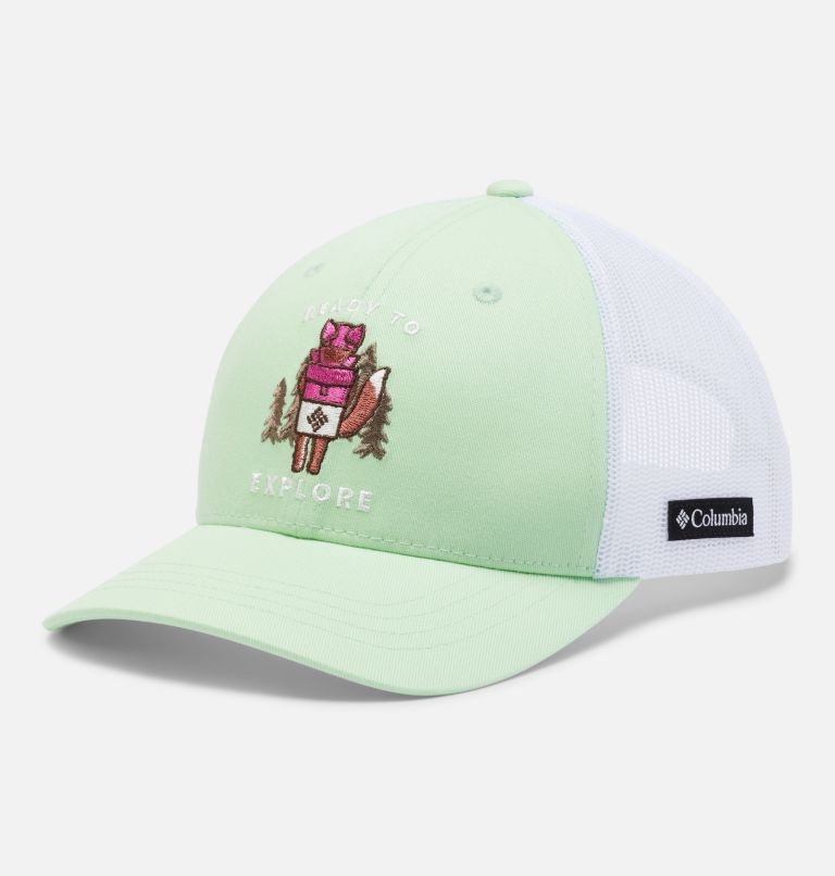Columbia Youth™ Snap Back Hat | 313 | O/S Youth Columbia™ Snap Back Cap, Light Lime, Explore, front