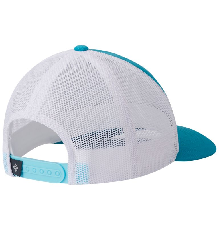 Columbia Youth™ Snap Back Hat   336   O/S Youth Columbia™ Snap Back Cap, Geyser, Circle Patch, back