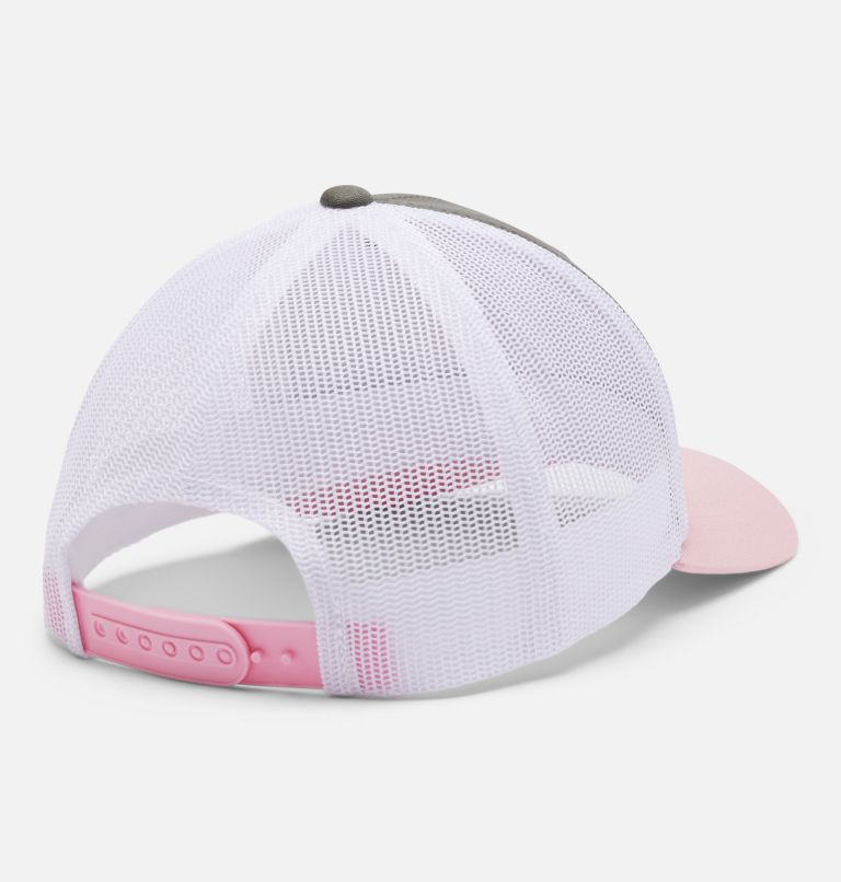 Columbia Youth™ Snap Back Hat | 398 | O/S Youth Columbia™ Snap Back Cap, Stone Green, Faux Pink, back