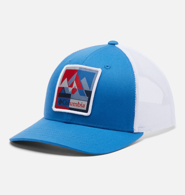 Columbia Youth™ Snap Back Hat | 432 | O/S Youth Columbia™ Snap Back Cap, Bright Indigo, front