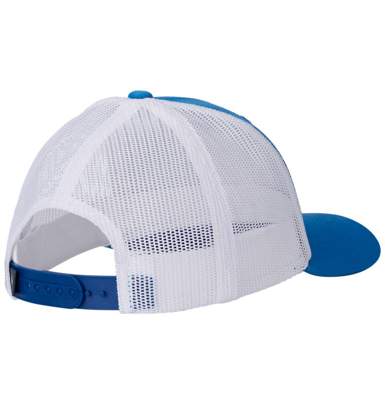 Columbia Youth™ Snap Back Hat | 438 | O/S Youth Columbia™ Snap Back Cap, Super Blue, Tree Badge, back