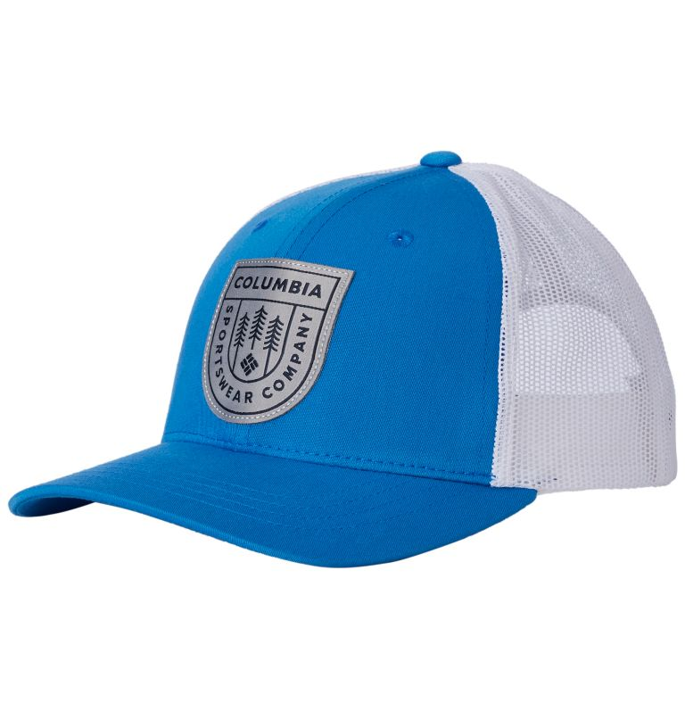 Columbia Youth™ Snap Back Hat | 438 | O/S Youth Columbia™ Snap Back Cap, Super Blue, Tree Badge, front