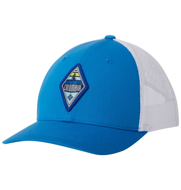 Columbia Youth™ Snap Back Hat | 439 | O/S Casquette Snapback Junior, Super Blue, Diamond Patch, front