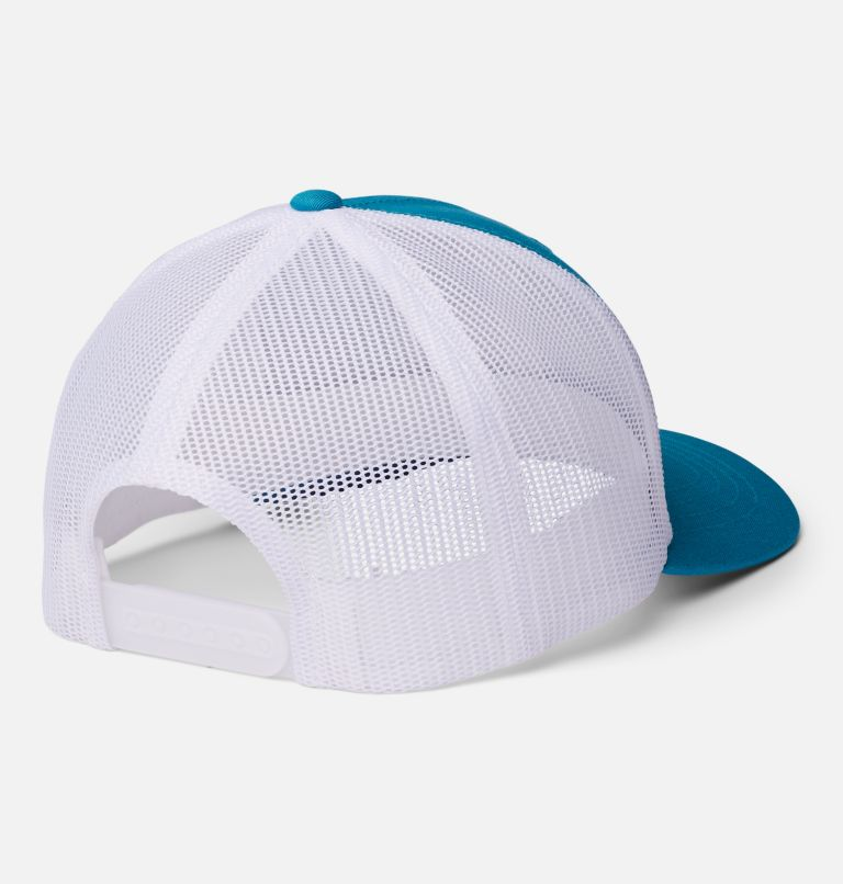 Columbia Youth™ Snap Back Hat | 462 | O/S Youth Columbia™ Snap Back Cap, Fjord Blue, White, Patch TBD, back