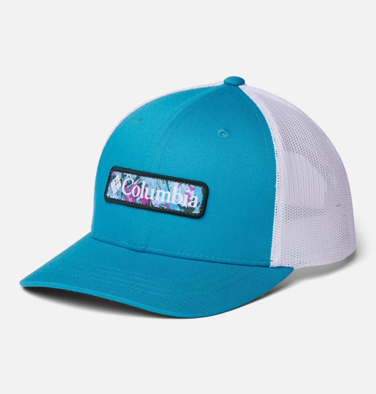 Columbia Youth™ Snap Back Hat   462   O/S Youth Columbia™ Snap Back Cap, Fjord Blue, White, Patch TBD, front