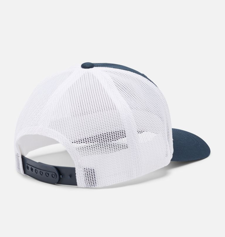 Columbia Youth™ Snap Back Hat | 464 | O/S Youth Columbia™ Snap Back Cap, Collegiate Navy, White, CSC Patch, back