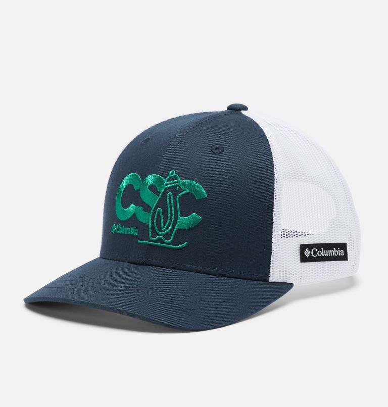 Columbia Youth™ Snap Back Hat | 464 | O/S Youth Columbia™ Snap Back Cap, Collegiate Navy, White, CSC Patch, front