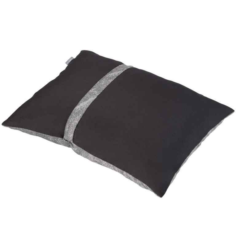 Camp Travel Pillow | 053 | NONE On-The-Go Compressible Pillow, Stone Graphite, back