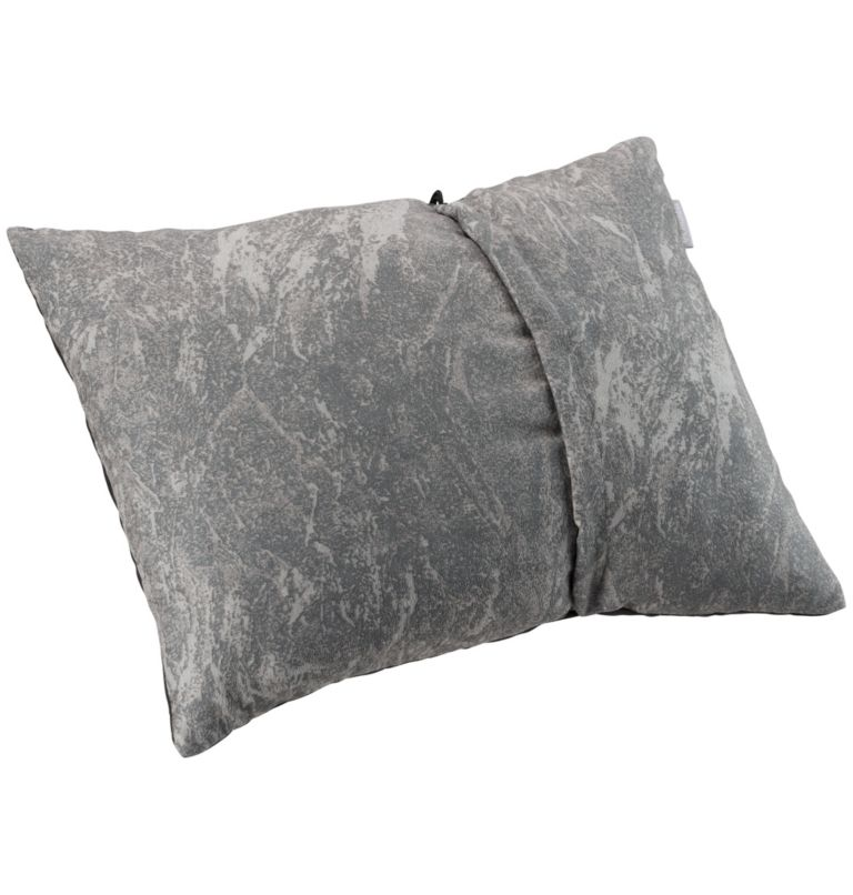 Camp Travel Pillow | 053 | NONE On-The-Go Compressible Pillow, Stone Graphite, front