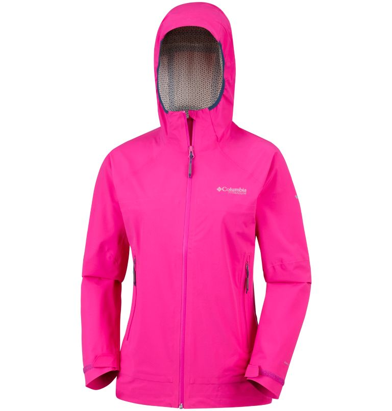 Trail Magic™ Shell | 627 | XS Capa exterior Trail Magic™ para mujer, Haute Pink, a1