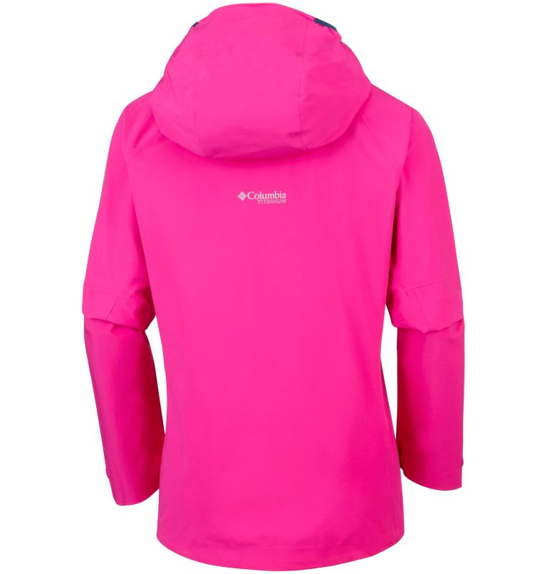 Trail Magic™ Shell | 627 | XS Capa exterior Trail Magic™ para mujer, Haute Pink, back