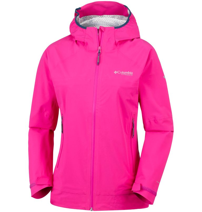 Trail Magic™ Shell | 627 | XS Capa exterior Trail Magic™ para mujer, Haute Pink, front