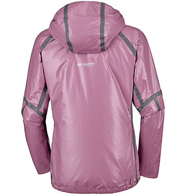Women's OutDry™ Ex Featherweight Shell OutDry™ Ex Featherweight Shell | 550 | L, Wine Berry, back