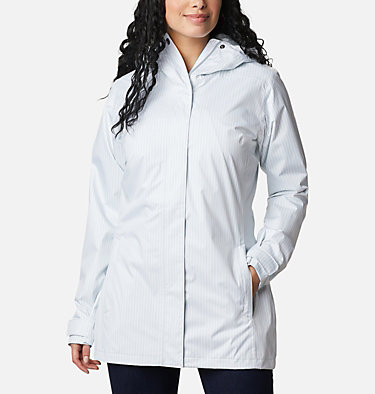 Women's Splash A Little™ II Jacket Splash A Little™ II Jacket | 193 | XL, Cirrus Grey Texture Stripe Print, front
