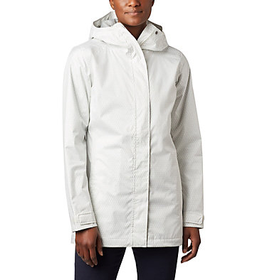 Women's Splash A Little™ II Jacket Splash A Little™ II Jacket | 193 | XL, Sea Salt Mini Hex Print, front