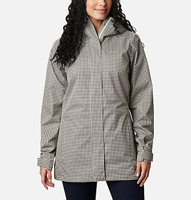 Women's Splash A Little™ II Jacket Splash A Little™ II Jacket | 193 | XL, Chalk Houndstooth Print, front