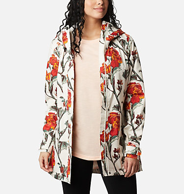 Women's Splash A Little™ II Jacket Splash A Little™ II Jacket | 193 | XL, Chalk Botanica Print, front