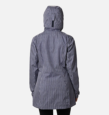Women's Splash A Little™ II Jacket Splash A Little™ II Jacket | 193 | XL, Dark Nocturnal Texture Stripe Print, back