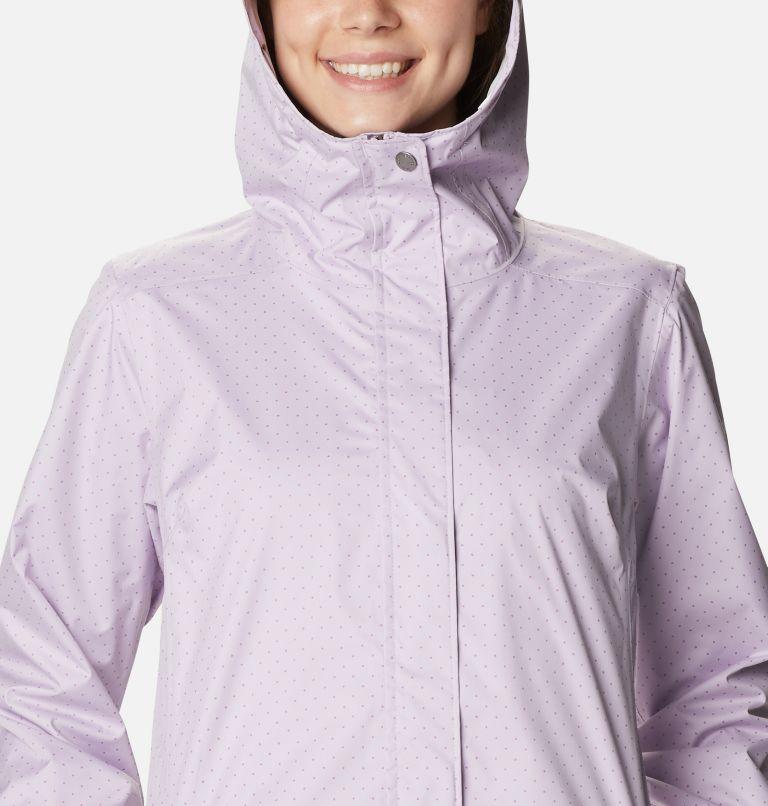 Splash A Little™ II Jacket | 584 | L Women's Splash A Little™ II Jacket, Pale Lilac Spacey Dots Print, a2