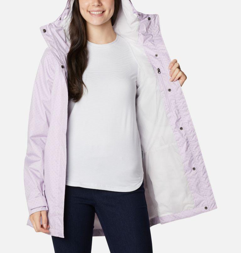 Splash A Little™ II Jacket | 584 | L Women's Splash A Little™ II Jacket, Pale Lilac Spacey Dots Print, a3