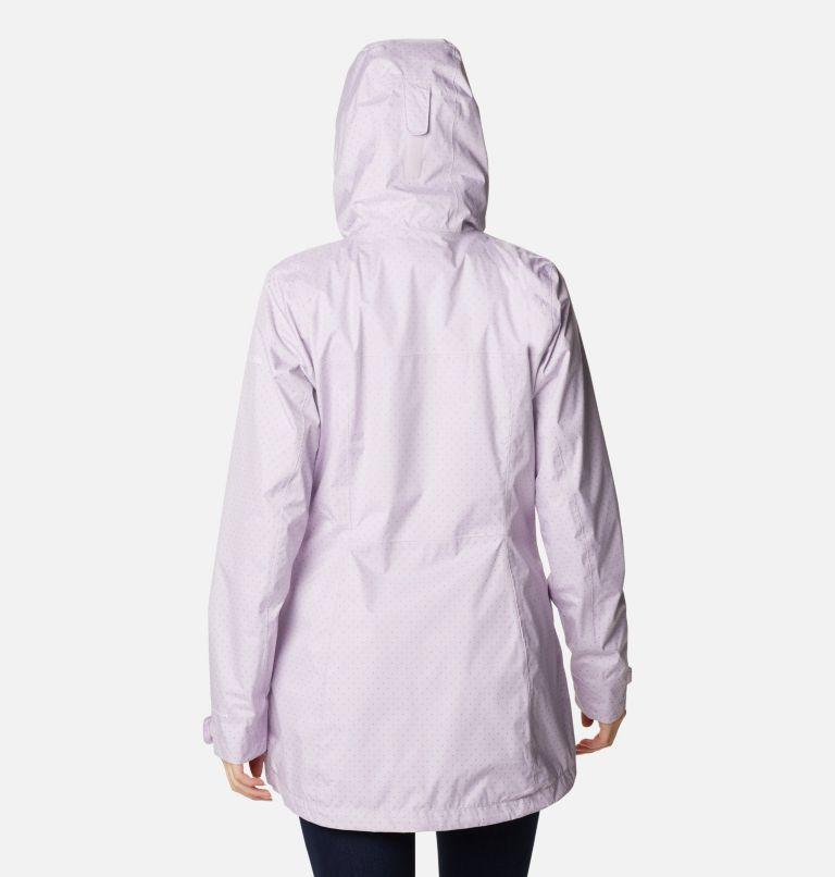 Splash A Little™ II Jacket | 584 | L Women's Splash A Little™ II Jacket, Pale Lilac Spacey Dots Print, back