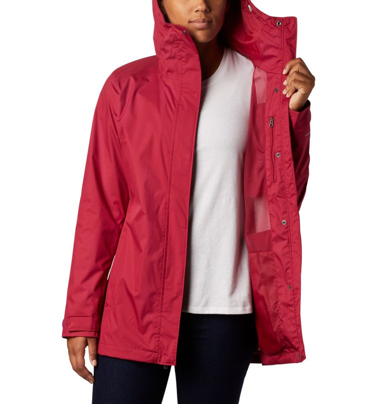 Splash A Little™ II Jacket | 661 | S Chaqueta Splash A Little™II para mujer, Red Orchid, a3