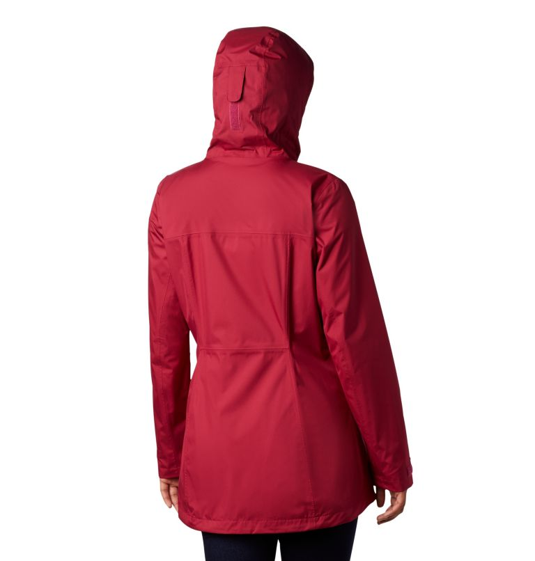 Splash A Little™ II Jacket | 661 | S Chaqueta Splash A Little™II para mujer, Red Orchid, back