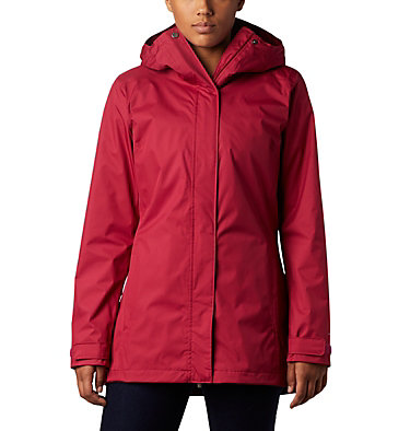 Women's Splash A Little™ II Jacket Splash A Little™ II Jacket | 633 | S, Red Orchid, front