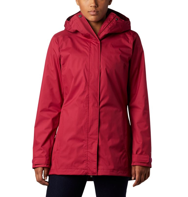 Splash A Little™ II Jacket | 661 | S Chaqueta Splash A Little™II para mujer, Red Orchid, front