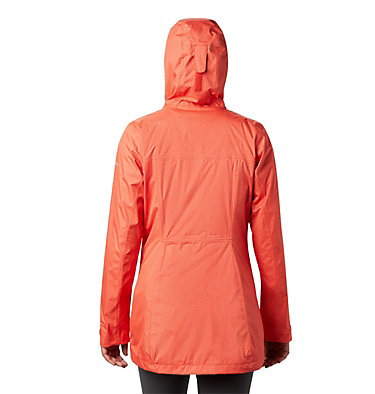 Women's Splash A Little™ II Jacket Splash A Little™ II Jacket | 633 | S, Bold Orange Titch Diamond Print, back