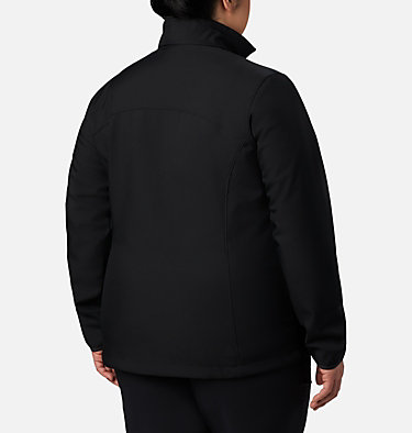 Women's Kruser Ridge™ II Softshell - Plus Size Kruser Ridge™ II Softshell | 619 | 2X, Black, back