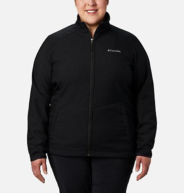 Women's Kruser Ridge™ II Softshell - Plus Size Kruser Ridge™ II Softshell | 619 | 2X, Black, front