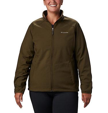 Women's Kruser Ridge™ II Softshell - Plus Size Kruser Ridge™ II Softshell | 619 | 2X, Olive Green, front