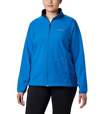 Women's Kruser Ridge™ II Softshell - Plus Size Kruser Ridge™ II Softshell | 619 | 2X, Fathom Blue, front