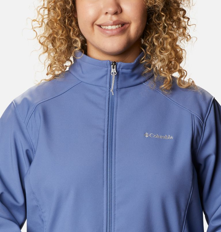 Kruser Ridge™ II Softshell | 458 | 1X Women's Kruser Ridge™ II Softshell - Plus Size, Velvet Cove, a2