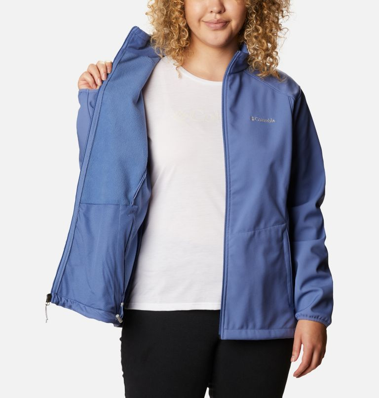 Kruser Ridge™ II Softshell | 458 | 1X Women's Kruser Ridge™ II Softshell - Plus Size, Velvet Cove, a3