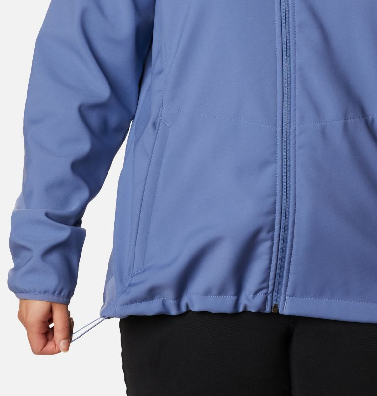 Kruser Ridge™ II Softshell | 458 | 1X Women's Kruser Ridge™ II Softshell - Plus Size, Velvet Cove, a4