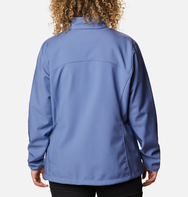 Kruser Ridge™ II Softshell | 458 | 1X Women's Kruser Ridge™ II Softshell - Plus Size, Velvet Cove, back