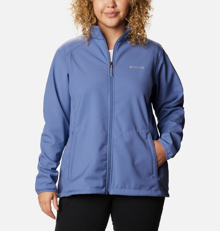 Kruser Ridge™ II Softshell | 458 | 1X Women's Kruser Ridge™ II Softshell - Plus Size, Velvet Cove, front