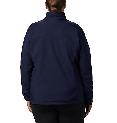 Women's Kruser Ridge™ II Softshell - Plus Size Kruser Ridge™ II Softshell | 619 | 2X, Dark Nocturnal, back