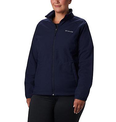 Women's Kruser Ridge™ II Softshell - Plus Size Kruser Ridge™ II Softshell | 619 | 2X, Dark Nocturnal, front