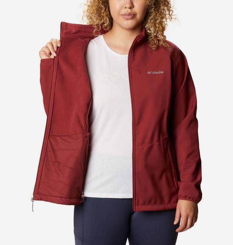 Kruser Ridge™ II Softshell | 619 | 1X Women's Kruser Ridge™ II Softshell - Plus Size, Marsala Red, a3