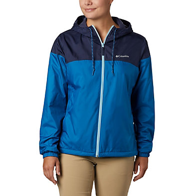 Women's Flash Forward™ Lined Windbreaker Flash Forward™ Lined Windbreaker | 581 | S, Dark Pool, Nocturnal, front