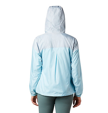 Women's Flash Forward™ Lined Windbreaker Flash Forward™ Lined Windbreaker | 010 | S, Spring Blue, Cirrus Grey, back