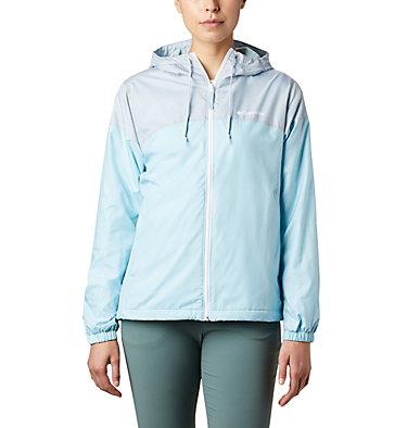 Women's Flash Forward™ Lined Windbreaker Flash Forward™ Lined Windbreaker | 010 | S, Spring Blue, Cirrus Grey, front