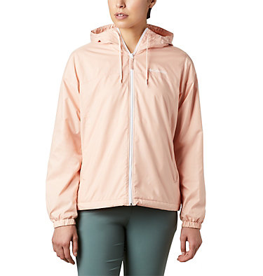 Women's Flash Forward™ Lined Windbreaker Flash Forward™ Lined Windbreaker | 581 | S, Peach Cloud, front