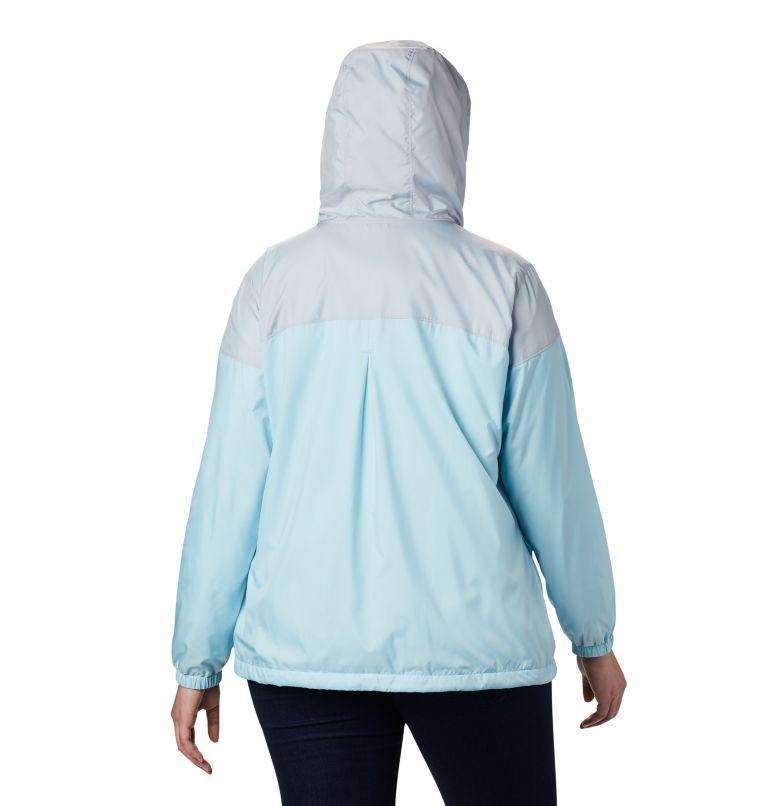 Women's Flash Forward™ Lined Windbreaker - Plus Size Women's Flash Forward™ Lined Windbreaker - Plus Size, back