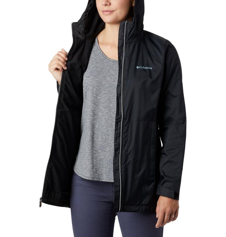 Switchback™ Lined Long Jacket | 010 | XS Women's Switchback™ Lined Long Jacket, Black, a2
